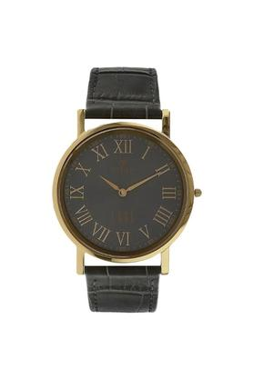 Mens Analogue Leather Watch - NK1595YL02