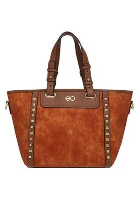 E2O Womens Zipper Closure Satchel Handbag - 203461170_9113
