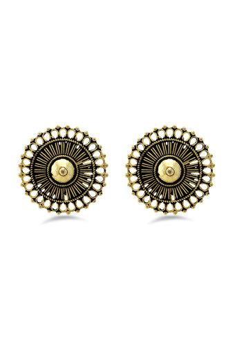 Womens Gold Plated Stud Earrings