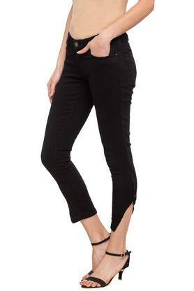 Womens 5 Pocket Coated Jeans