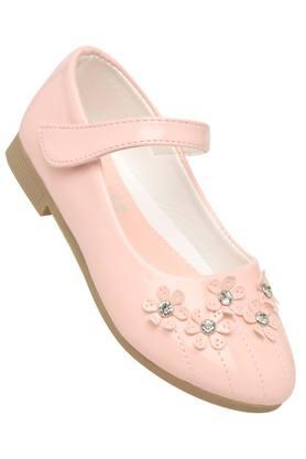 Girls Velcro Closure Ballerinas
