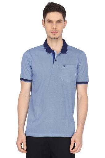 LOUIS PHILIPPE -  BlueT-shirts - Main