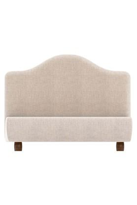 Beige Letti Bed