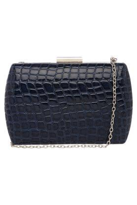 Womens Casual Wear Hook and Loop Closure Sling Clutch