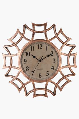 Round Analogue Web Wall Clock with Arabic Markers