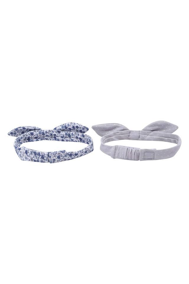 Girls Printed Bow Hairbands Pack of 2