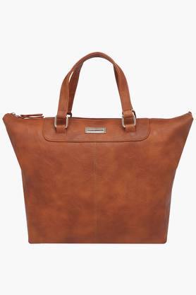 ELLIZA DONATEINWomens Zipper Closure Satchel Handbag - 203261123