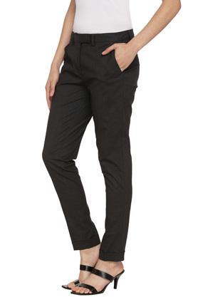 Womens 4 Pocket Slub Pants