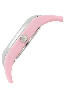 Girls Round Dial Analogue Watch - NKC2001PP03