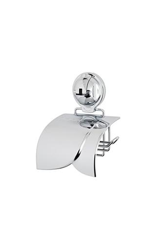 Push and Lock Toilet Roll Holder