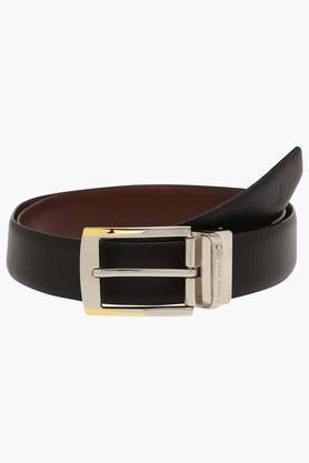 LOUIS PHILIPPEMens Leather Buckle Closure Formal Belt