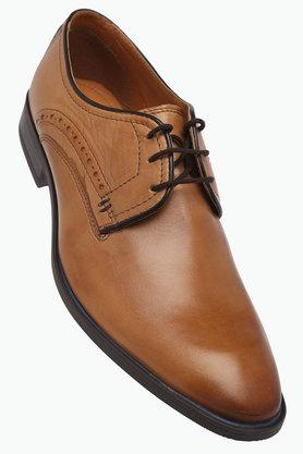 VENTURINI Mens Leather Lace Up Derbys - 203017961