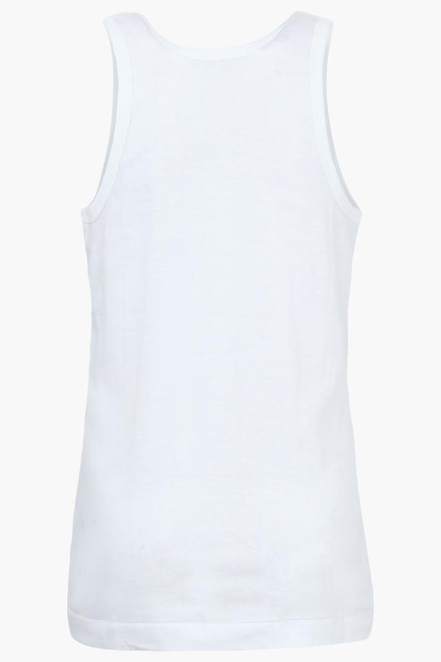 Boys Solid Vest