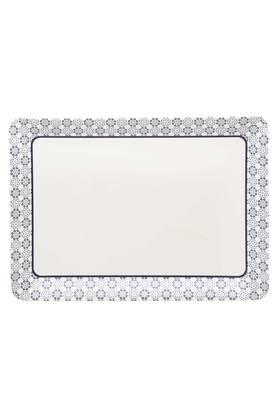 Royal Palmette Rectangular Printed Serving Tray