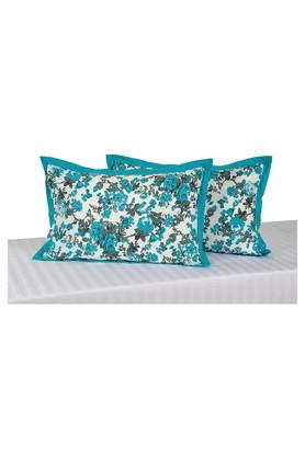 SWAYAM Floral Printed Pillow Cover Set Of 2 - 204589311_9327