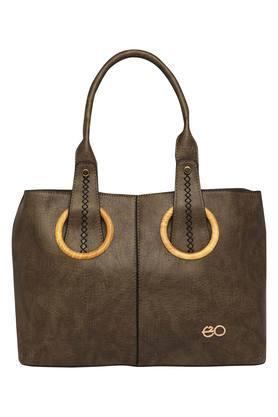E2OWomens Zipper Closure Tote Handbag - 204276817_9463