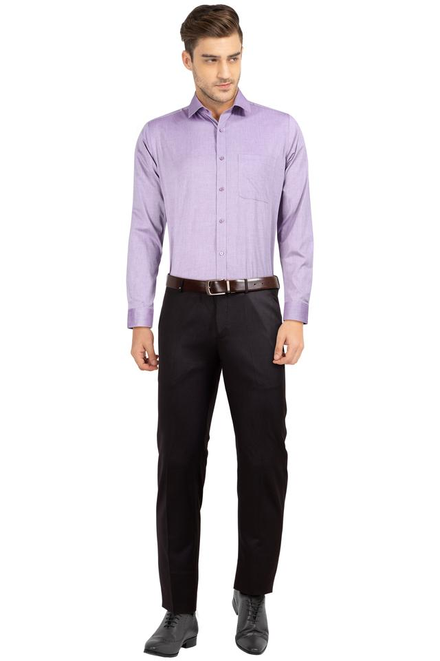 Mens Slub Formal Shirt