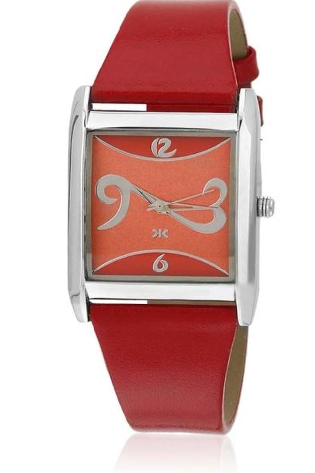 Womens Analogue Leather Watch
