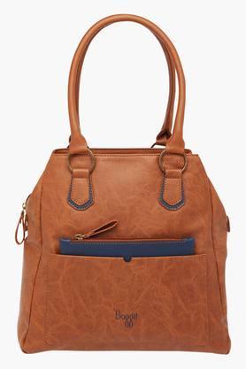 BAGGITWomens Casual Wear Zipper Closure Tote Handbag - 203012928