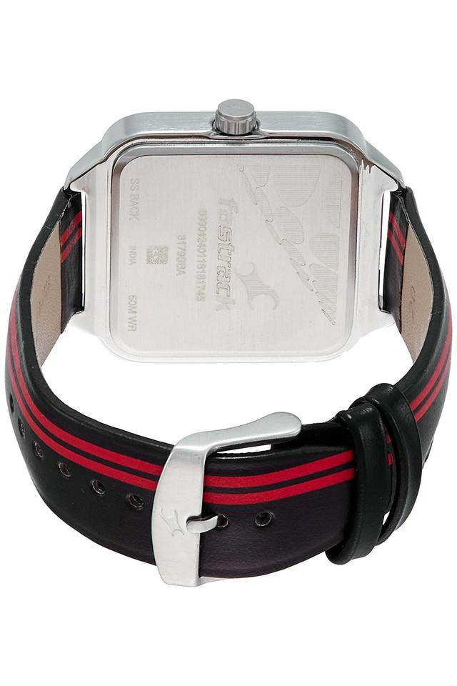 Mens Analogue Leather Watch - 3179SL01
