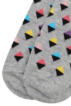 Mens Full Length Mini Diamond Socks