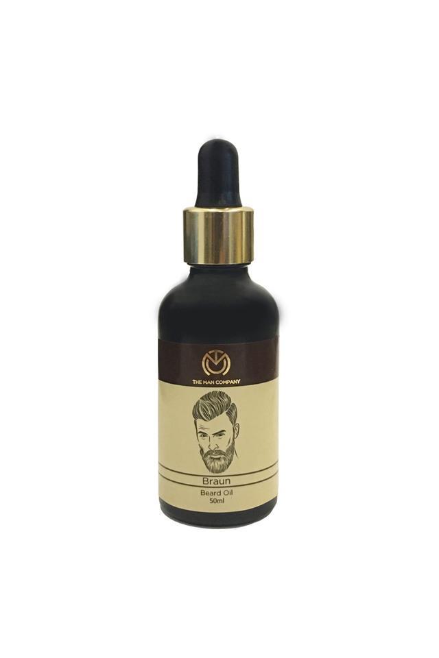 Mens Braun Spice Wood Beard Oil - 50ml