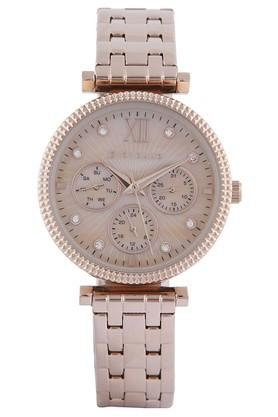 GIORDANO Womens Rose Gold Dial Analog Watch 2840-33