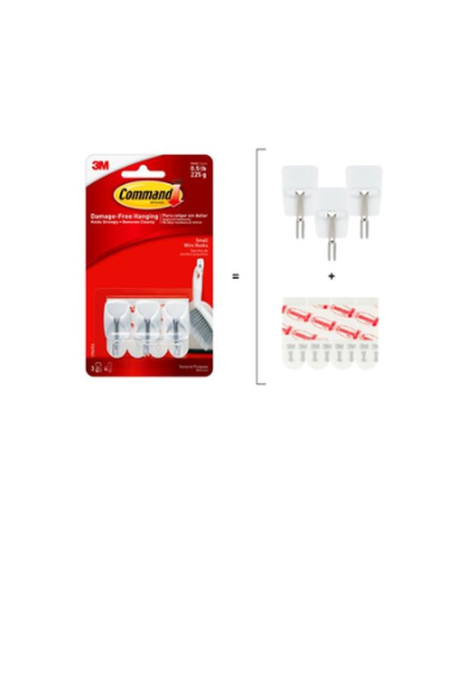 Small Wire Hooks Pack of 3
