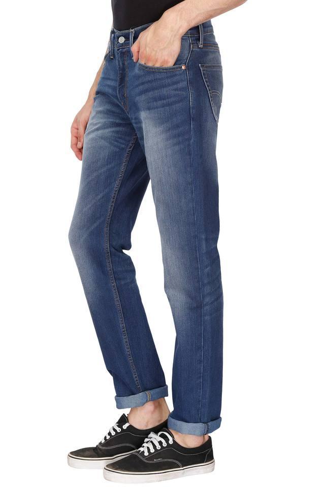 Mens 5 Pocket Heavy Wash Jeans (511)