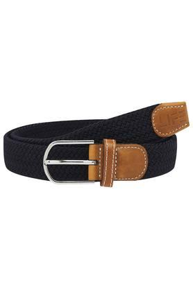 LIFE Mens Synthetic Buckle Closure Casual Belt