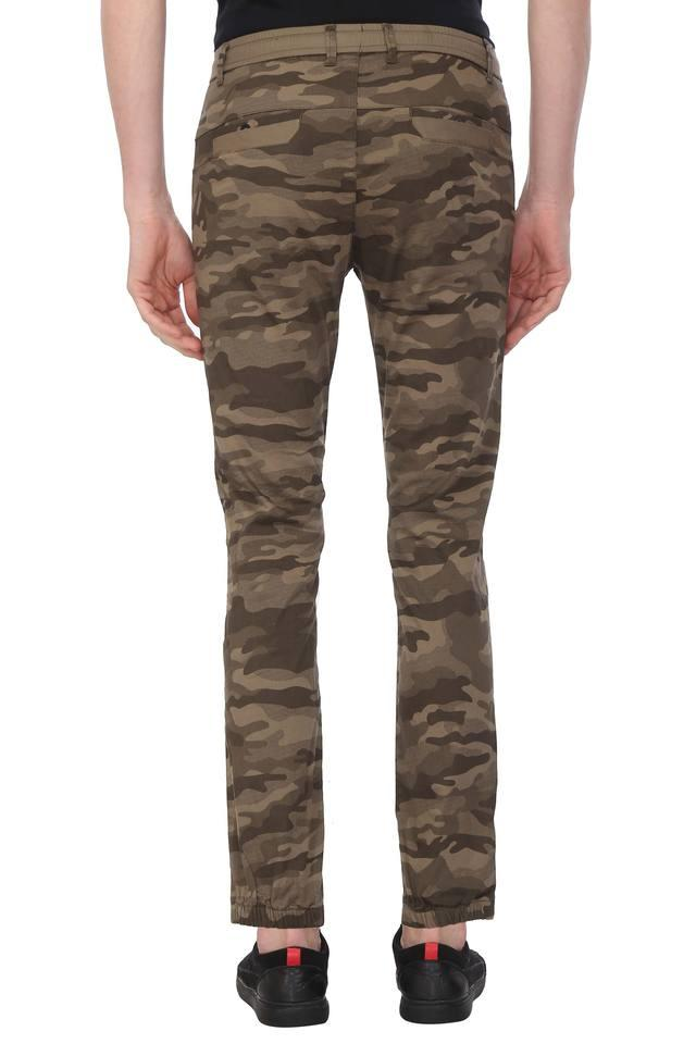 Mens 4 Pocket Camouflage Joggers