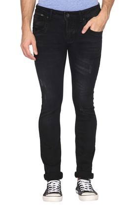 FLYING MACHINEMens 5 Pocket Mild Wash Jeans (Jackson Fit)