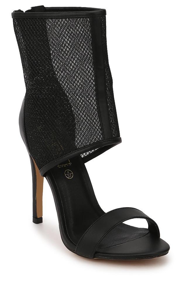 Womens Party Wear Zipper Heels