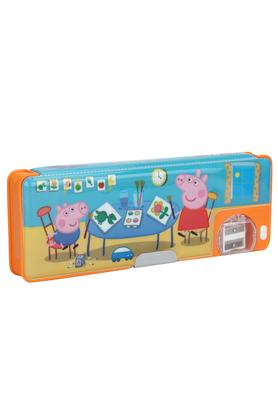 Kids Peppa and George One Button Pencil Box