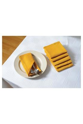 SWAYAMSolid Dinner Napkin Set Of 6 - 204600084_9407