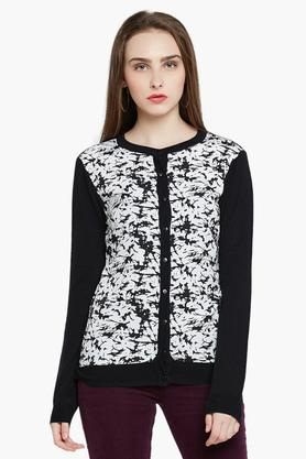 RARE Womens Full Sleeves Printed Sweater