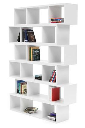 White Ghio Book Shelf