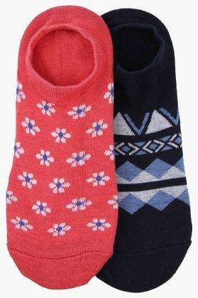 Unisex Printed Socks Pack of 2