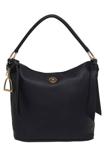 Buy U.S. POLO ASSN. Womens Zipper Closure Hobo Handbag  b0c9f5a191757