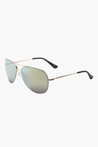 Unisex Aviator Polycarbonate Sunglasses - 3033 C3 S