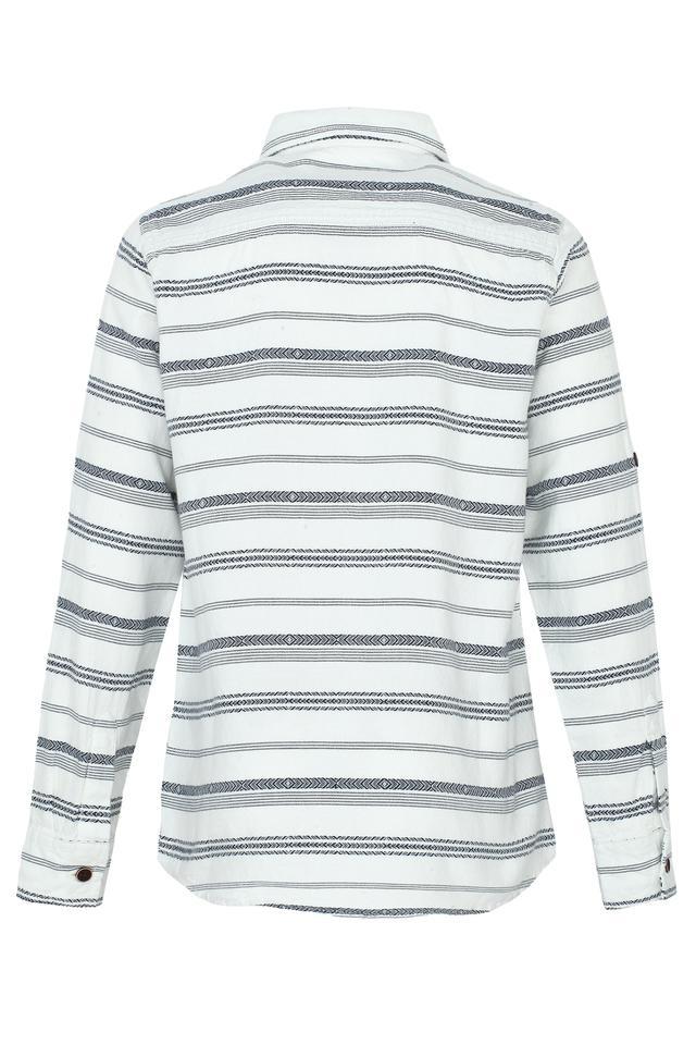 Boys Striped Casual Shirt