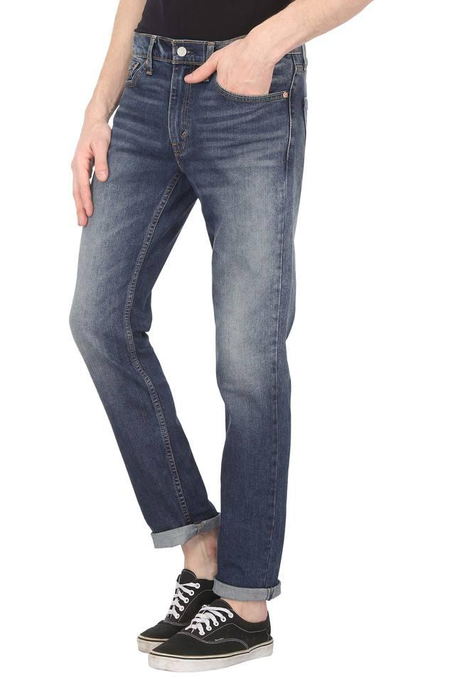Mens 5 Pocket Whiskered Effect Jeans (511)