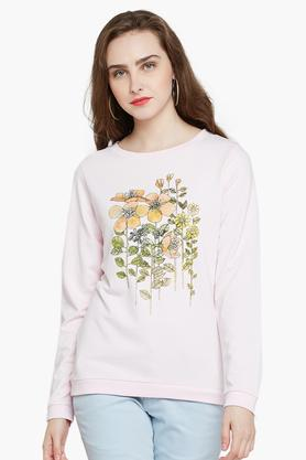 RARE Womens Round Neck Printed Sweatshirt - 203403696