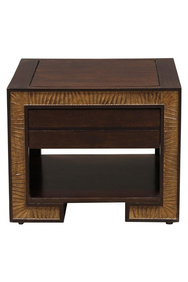 Brown Norah Bed Side Table