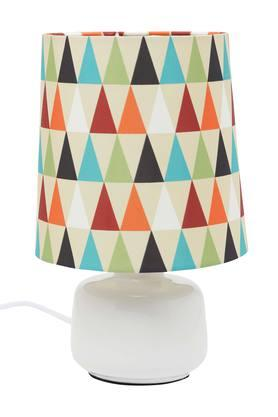 IVYRound Printed Table Lamp