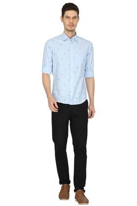 FRATINI - Blue Casual Shirts - 3