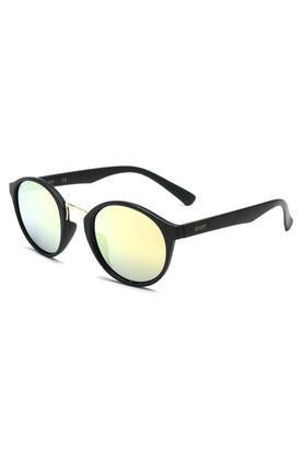 Unisex Full Rim Round Sunglasses - 2080 C2 S