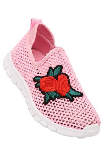 Girls Casual Wear Slipon Sneakers