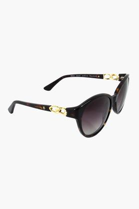 Womens Round- framed UV Protected Sunglasses - GC304BR2FP