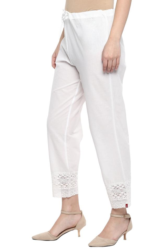 Womens Lace Casual Pants